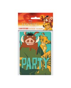Disney The Lion King Invitations