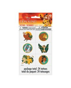 Disney The Lion King Temporary Tattoos