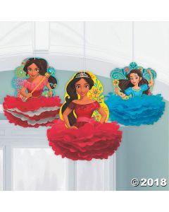 Disneys Elena Fluffy Hanging Decorations
