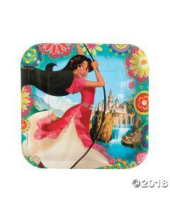 Disneys Elena Paper Dinner Plates