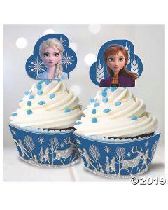 Disney's Frozen 2 Glitter Cupcake Kit for 24