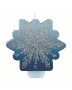 Disney's Frozen II Glitter and Decal Candle