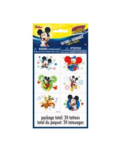 Disney's Mickey Mouse Party Temporary Tattoos