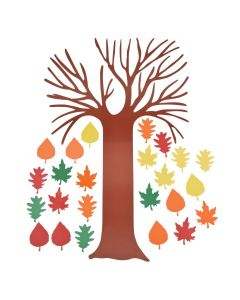 "DIY Bulletin Board Set - ""Tree of Thanks"