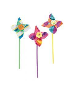 DIY Pinwheels - 48 pcs.