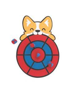 Dog Party Dartboard