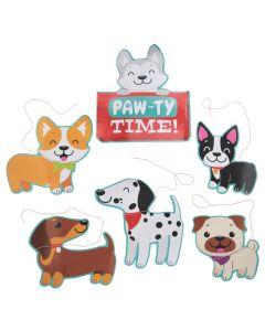 Dog Party Wall Cutouts