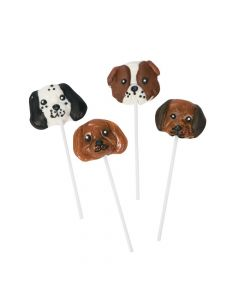 Dog-Shaped Lollipops