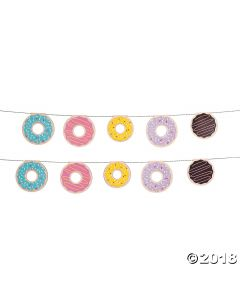 Donut Party Garland
