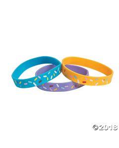 Donut Party Rubber Bracelets