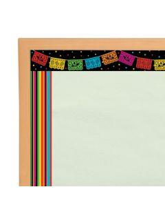 Double-Sided Fiesta Bulletin Board Borders