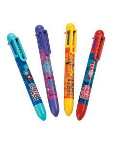 Dr. Seuss 6-Color Shuttle Pens
