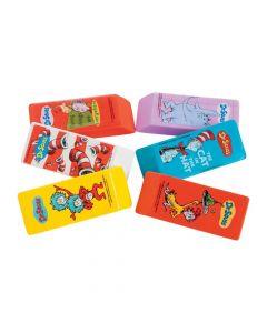 Dr. Seuss Beveled Erasers