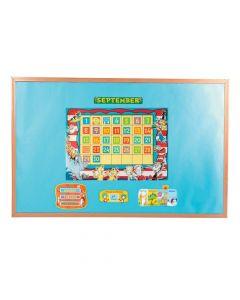 Dr. Seuss Bulletin Board Calendar
