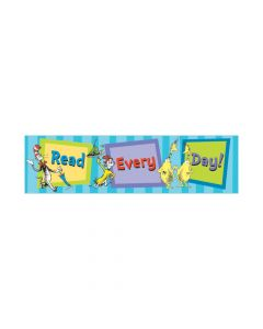 Dr. Seuss Cat in the Hat Read Every Day Cardboard Banner