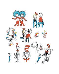 Dr. Seuss Character Bulletin Board Cutouts