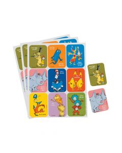 Dr. Seuss Character Stickers