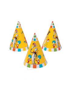 Dr. Seuss Cone Party Hats