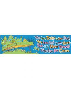 Dr. Seuss Direction You Choose Banner