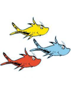 Dr. Seuss Fish Bulletin Board Accents