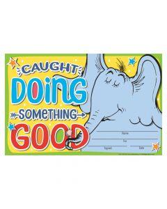 DR. Seuss Horton Hears a Who Doing Good Certificates