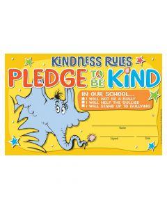 DR. Seuss Horton Hears a Who Kindness Pledge Certificates