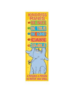 Dr. Seuss Horton Hears a Who Kindness Rules Bookmarks