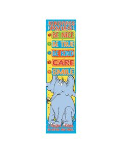 Dr. Seuss Horton Hears a Who Kindness Rules Vertical Banner