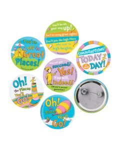 Dr. Seuss™ Oh, the Places You'll Go Buttons