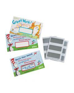 Dr. Seuss Scratch-Off Reward Cards