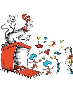 Dr. Seuss Things Box Bulletin Board Set