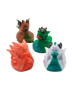 Dragon Rubber Duckies