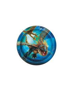 DreamWorks How To Train Your Dragon Paper Dessert Plates
