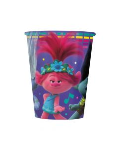 DreamWorks Trolls World Tour Paper Cups - 8 Ct.