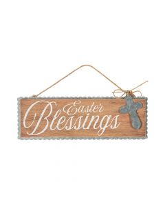 Easter Blessings Sign