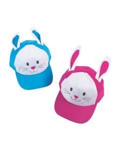 Easter Bunny Baseball Caps with Ears