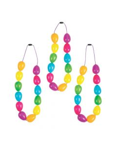 Easter Egg Necklaces