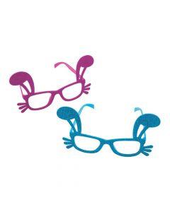 Easter Glitter Bunny Glasses