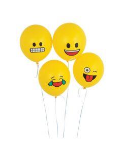 "Emoji 11"" Latex Balloons"