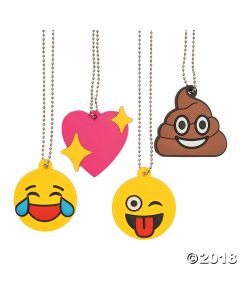 Emoji Charm Necklaces