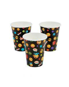 Emoji Graduation Party Paper Cups