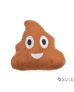 Emoji Plush Poop Toys