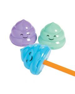 Emoji Poop Pencil Sharpeners