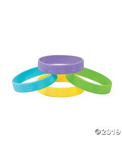 Emoji Rubber Bracelets