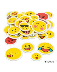 Emoji Self-adhesive Shapes