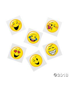 Emoji Tattoo Assortment