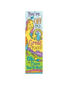 Eureka Dr. Seuss Oh the Place You'll Go Vertical Banner