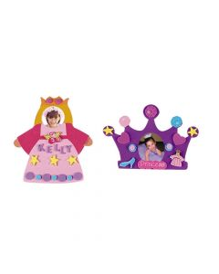 Fabulous Foam Princess Frames