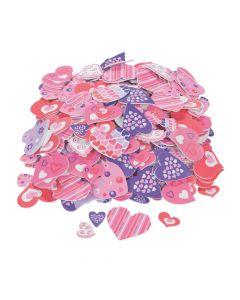 Fabulous Foam Self-Adhesive Valentine Heart Shapes