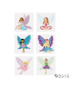 Fairy Princess Glitter Temporary Tattoos